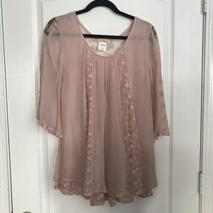 Sweet Magnolia Lacy Blouse